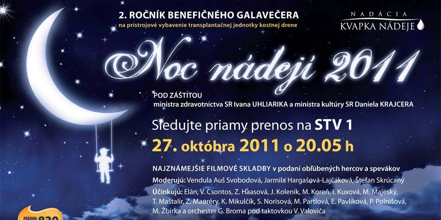 Noc nádejí 2011