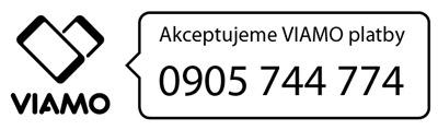 možnosť prispievania zasielaním príspevku cez VIAMO na telefónne číslo 0905744774.