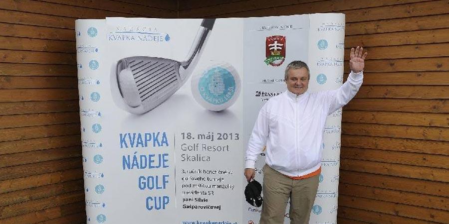 Kvapka Nádeje Golf Cup 2013 už po tretí krát pomohol transplantačnej jednotke kostnej drene