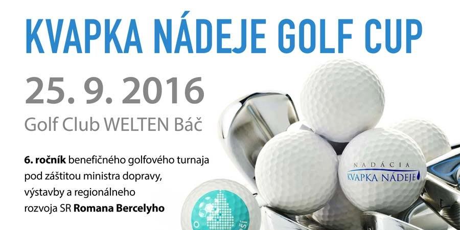 Kvapka Nádeje Golf Cup VI.ročník 2016