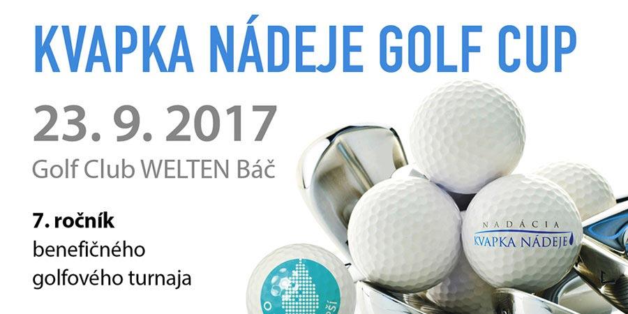 Kvapka Nádeje Golf Cup VII.ročník 2017