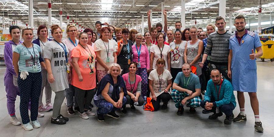 Amazon Goes Gold: Logistické centrum pri Seredi venovalo celkom 28 000 eur na podporu detských onkologických pacientov